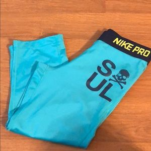 Teal SOUL fit Nike leggings